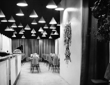 The Tea House interior c. 1958
