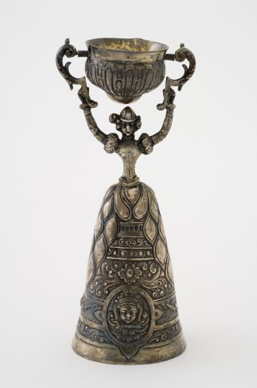 Wedding cup (Wager cup) c. 19th century silver The University of Melbourne Art Collection. Gift of the Russell and Mab Grimwade Bequest 1973