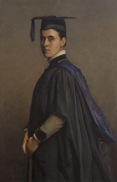 Marian Pirani 'Mrs M P Fox, MA' 1888 oil on canvas The University of Melbourne Art Collection. Gift of Mr Philip Fox 2006