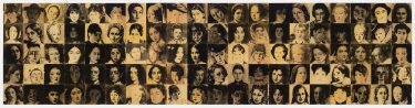 JulieRrap born 1950 in Lismore, New South Wales; lives and works inSydney  'Transpositions II'1994 direct positive photograph on plywood The Vizard Foundation Art Collection of the 1990s, acquired 1996. On loan to the Ian Potter Museum of Art,University of Melbourne
